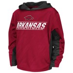 Colosseum Athletics™ Juniors' University of Arkansas Sleet Pullover Hoodie