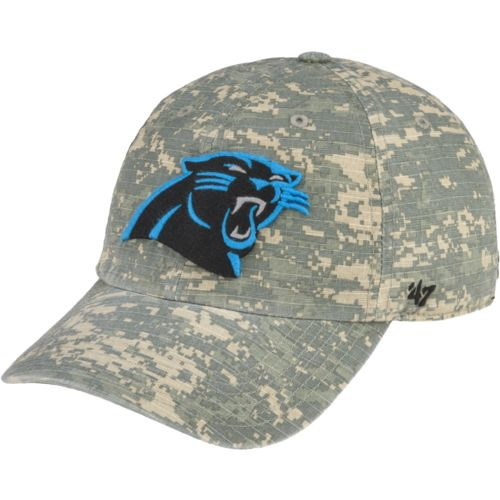 '47 Carolina Panthers Officer Camo Cleanup Cap