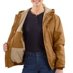 Carhartt Women's Flame Resistant Midweight Canvas Active Jacket - view number 3