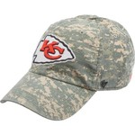 '47 Kansas City Chiefs Officer Camo Cleanup Cap