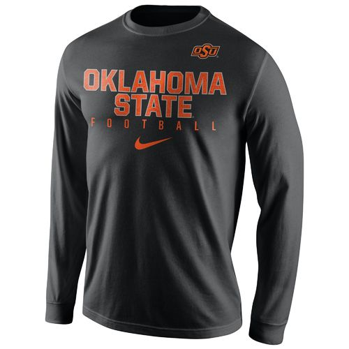 Nike™ Men's Oklahoma State University Practice Long Sleeve T-shirt