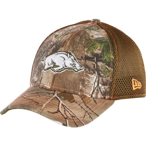 New Era Men's University of Arkansas Realtree 39THIRTY Cap