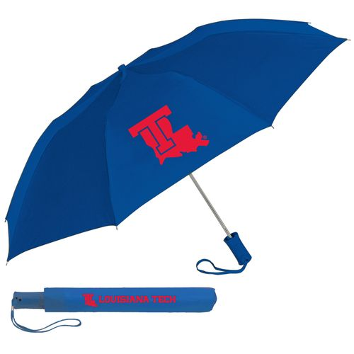 Storm Duds Louisiana Tech University 42' Automatic Folding Umbrella