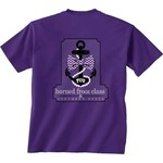 New World Graphics Boys' Texas Christian University Southern Anchor T-shirt