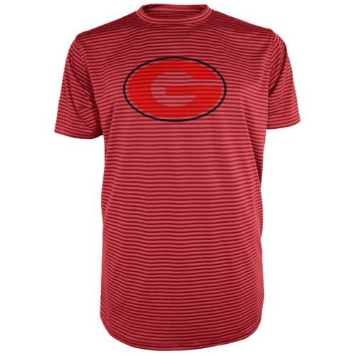 Majestic Men's University of Georgia Section 101 Between the Lines T-shirt