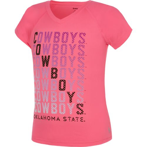 Soffe Girls' Oklahoma State University Performance V-neck