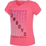 Soffe Girls' Oklahoma State University Performance V-neck T-shirt