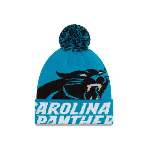 New Era Men's Carolina Panthers Colossal Knit Cap