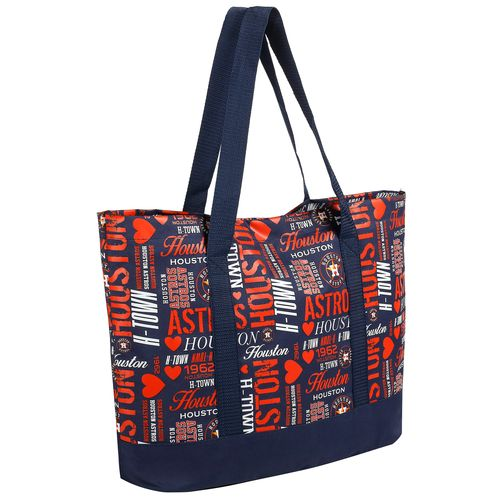 Forever Collectibles™ Women's Houston Astros Collage Tote Bag