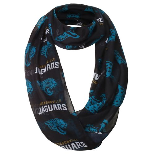 Forever Collectibles Women's Jacksonville Jaguars Infinity Scarf