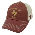 Top of the World Women's Texas State University Roots Cap