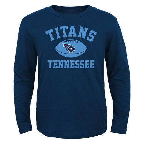 NFL Boys' Tennessee Titans Long Sleeve T-shirt