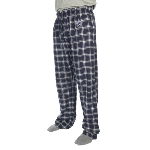 Dallas Cowboys Men's Burrow Flannel Lounge Pant