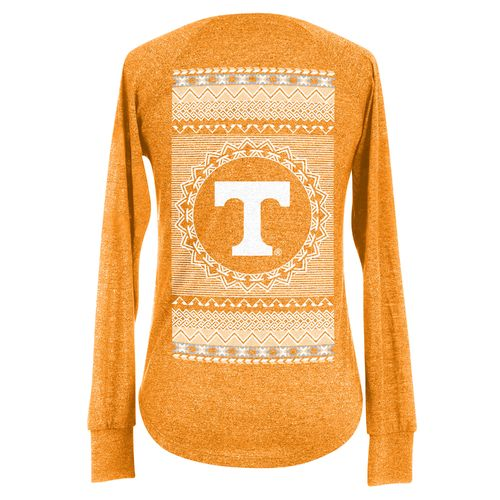 Chicka-d Women's University of Tennessee Favorite V-neck Long Sleeve T-shirt