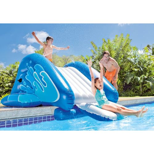INTEX Kool Splash Inflatable Water Slide Play Center with Sprayer - view number 2