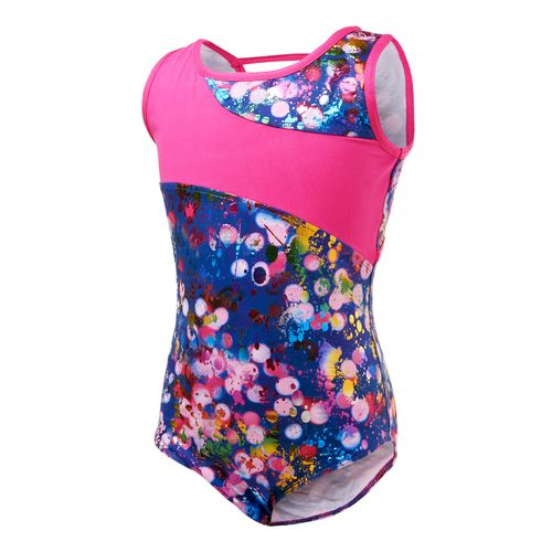 Capezio Girls' Future Star Light Brights Printed Tank Leotard