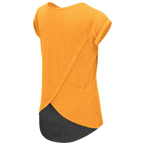Colosseum Athletics™ Girls' University of Tennessee Baywatch Split Back T-shirt - view number 2
