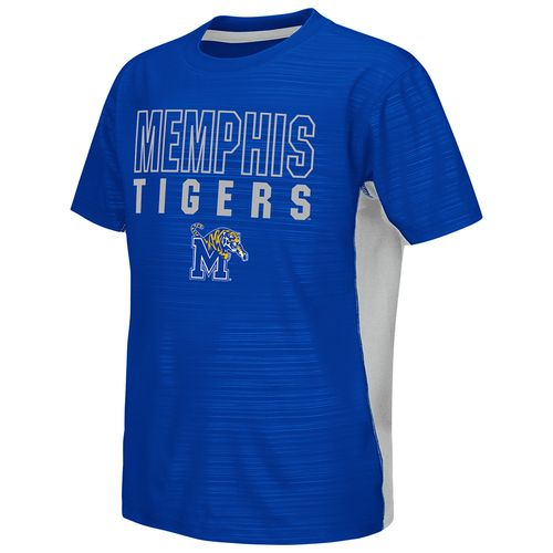 Colosseum Athletics™ Youth University of Memphis In the Vault Cut and Sew T-shirt - view number 1