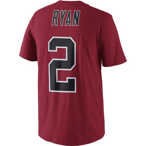 Nike Men's Atlanta Falcons Matt Ryan 2 Player Pride Name and Number T-shirt