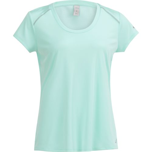 BCG Women's Running Short Sleeve V-neck Colorblock Top