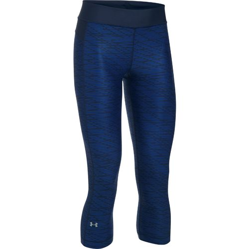 Under Armour™ Women's HeatGear® Armour Printed Capri Pant