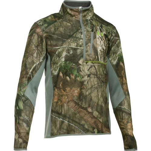Under Armour Men's Storm Scent Control 1/4 Zip Camo Fleece