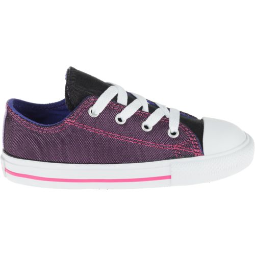 Converse Girls' Chuck Taylor All Star Shimmer Shine Shoes