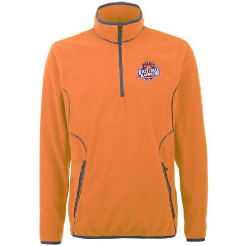 Antigua Men's Clemson University 2016 National Champions Ice 1/4 Zip Pullover