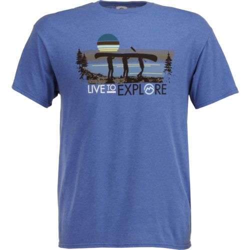 Magellan Outdoors Men's Live To Explore Canoe T-shirt