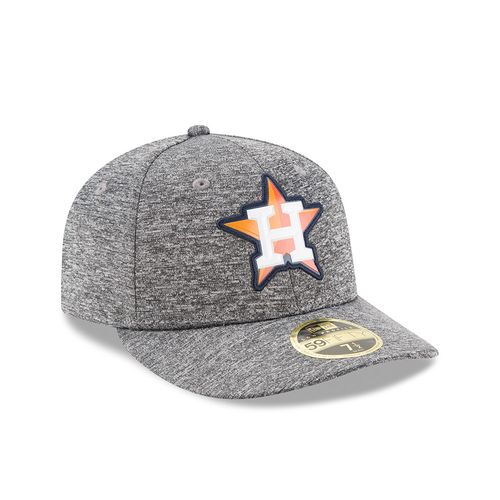 New Era Men's Houston Astros Bevel Team Low-Profile 59FIFTY Cap - view number 3