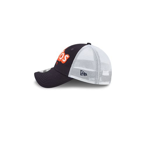 New Era Toddler Houston Astros 9TWENTY® Pop Stitcher Trucker Cap - view number 4