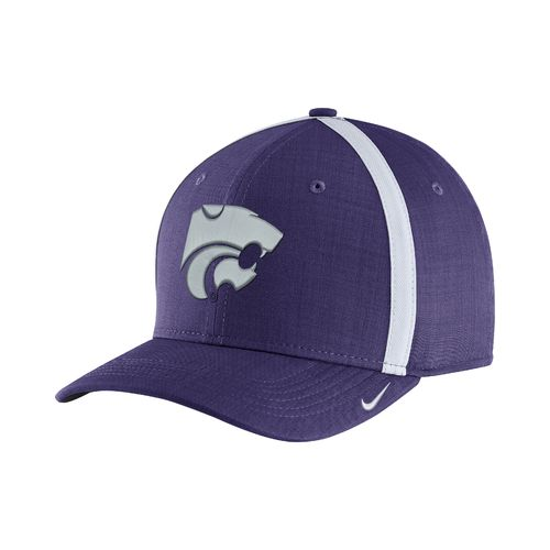 Nike™ Men's Kansas State University AeroBill Sideline Coaches Cap