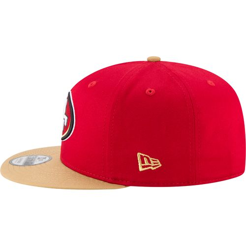New Era Men's San Francisco 49ers 9FIFTY Baycik Snapback Cap - view number 4