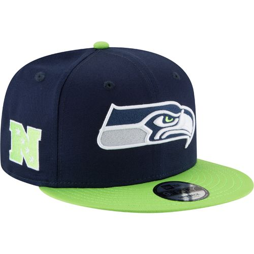 New Era Men's Seattle Seahawks 9FIFTY Baycik Snapback Cap - view number 3