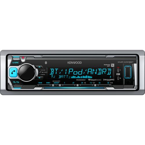 Kenwood Marine Motorsports 200W Digital Media Receiver with Two 6-1/2