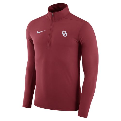 Nike™ Men's University of Oklahoma Element 1/4 Zip Pullover - view number 1