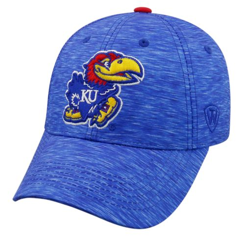 Top of the World Men's University of Kansas Warpspeed Cap