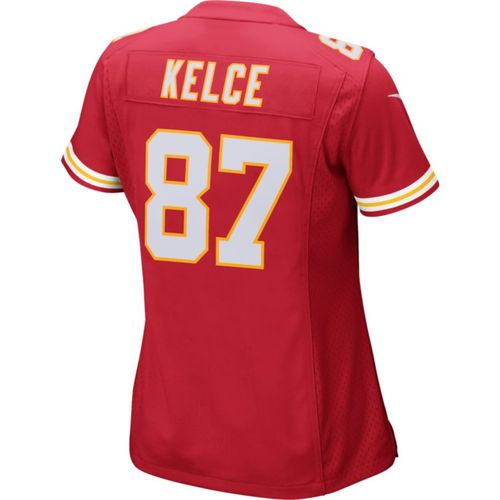 Nike Women's Kansas City Chiefs Travis Kelce 87 Home Replica Game Jersey