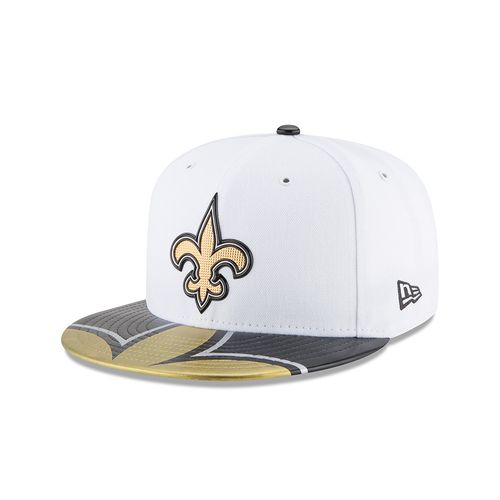 New Era Men's New Orleans Saints 59FIFTY NFL17 Official On Stage Cap