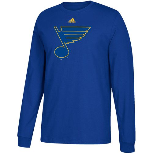 adidas Men's St. Louis Blues Authentic Shear Speed Long Sleeve T-shirt
