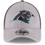 New Era Men's Carolina Panthers Grayed Out Neo 2T 39THIRTY Cap - view number 6