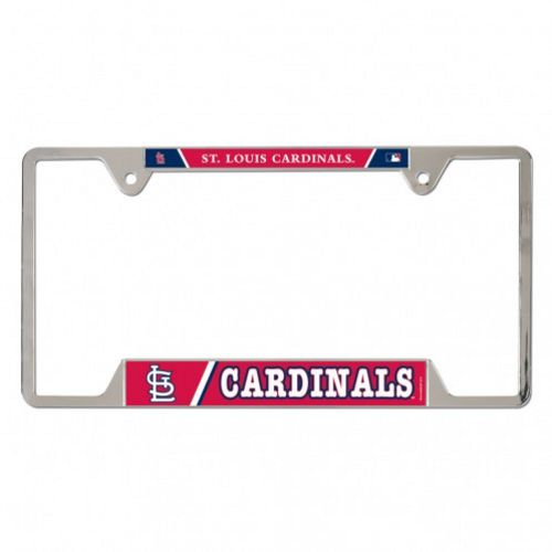 WinCraft St. Louis Cardinals Metal License Plate Frame