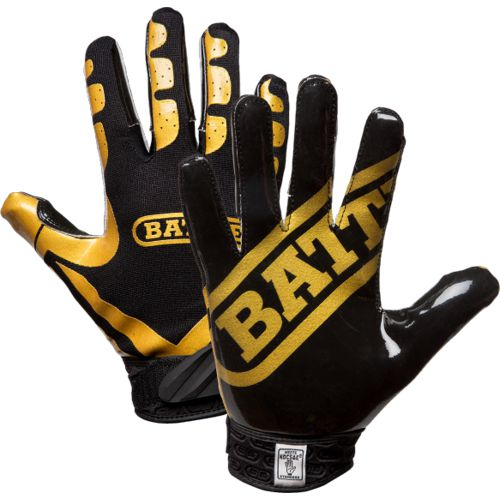 Display product reviews for Battle Youth Ultra-Stick Receiver Football Gloves