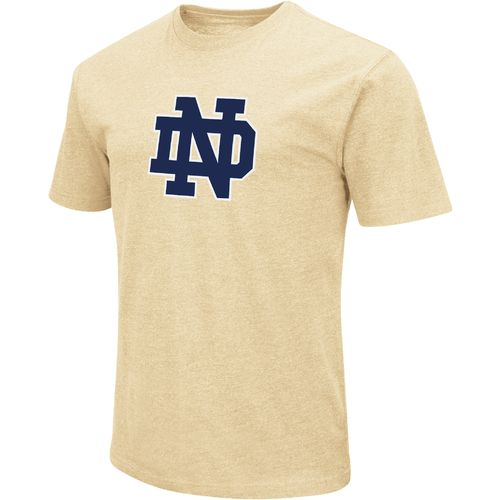 Colosseum Athletics Men's University of Notre Dame Logo Short Sleeve T-shirt