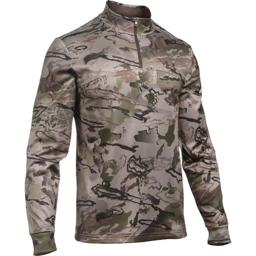 Under Armour Men's Franchise Camo 1/4 Zip Pullover