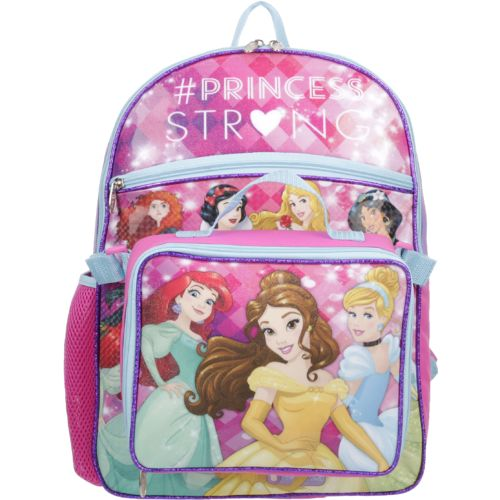 Disney™ Girls' Princess Backpack with Lunch Kit