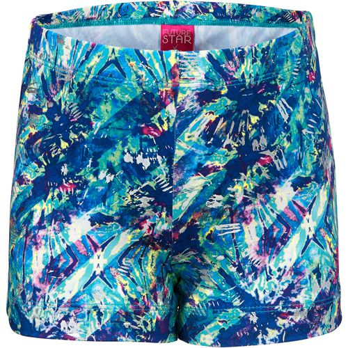 Capezio Girls' Future Star Splash Allover Printed Short