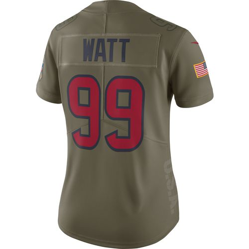 Nike Women's Houston Texans J.J. Watt Limited Salute To Service Jersey