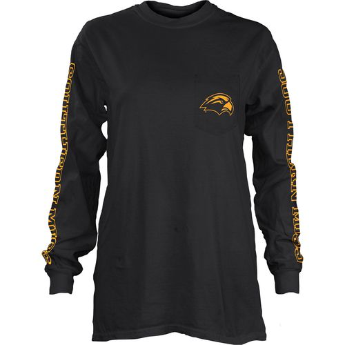 Three Squared Juniors' University of Southern Mississippi Mystic Long Sleeve T-shirt