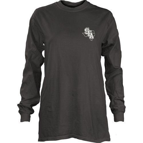 Three Squared Juniors' Stephen F. Austin State University Tower Long Sleeve T-shirt - view number 2